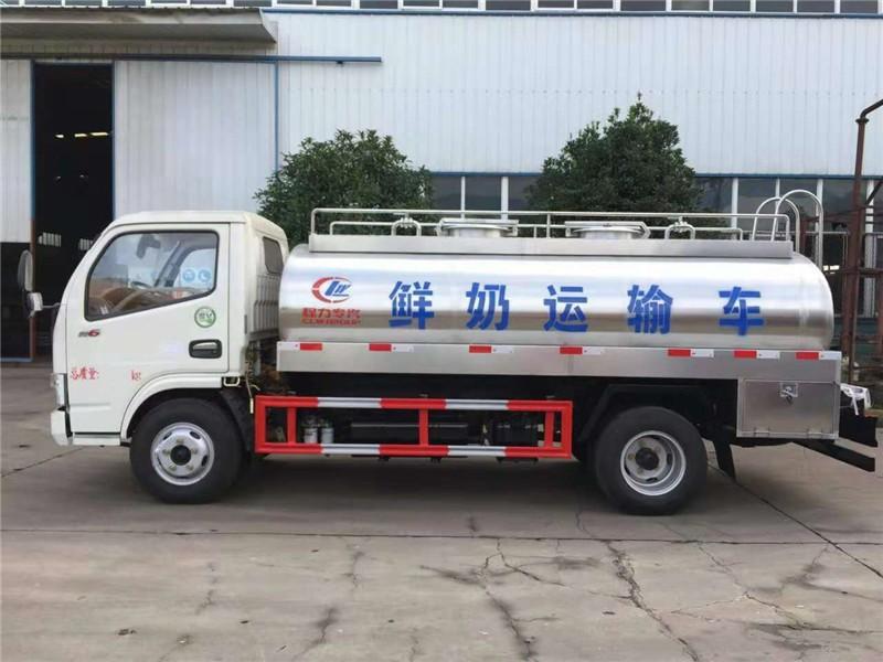 东风4-5立方鲜奶运输车